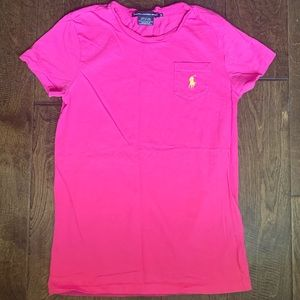 Ralph Lauren Sport Pink T-Shirt